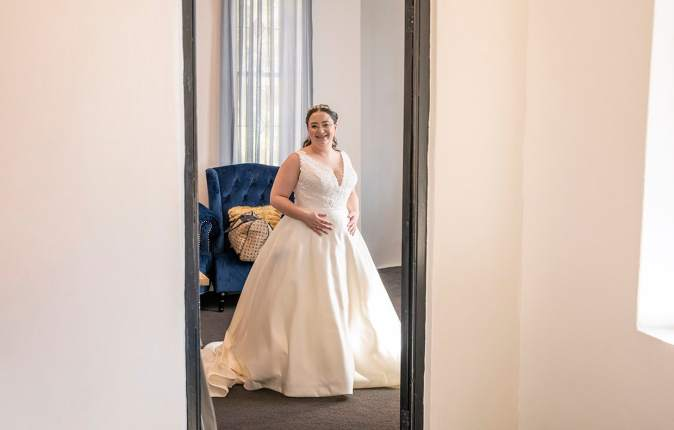 bride through doorway 2