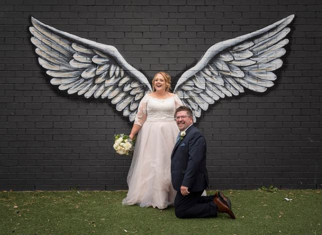 Bridal wings