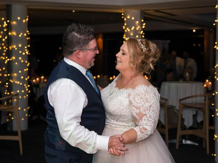 First dance at the lakes resort hotel wedding