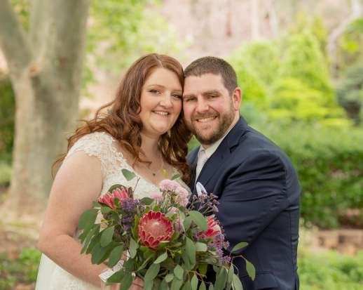 Stockade Botanic Park Wedding photo