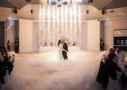 JDF Reception Center Wedding Photo