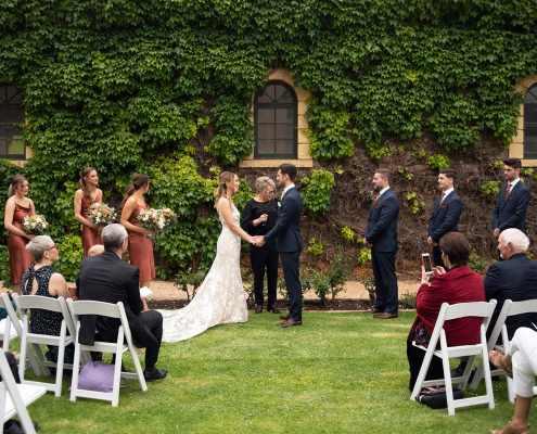 Seppeltsfield Wedding Ceremony
