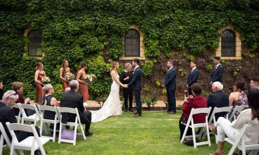 Seppeltsfield Wedding Ceremony