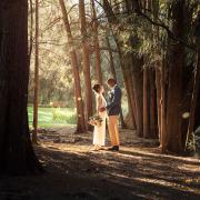 Adelaide Botanic Gardens Sunset wedding
