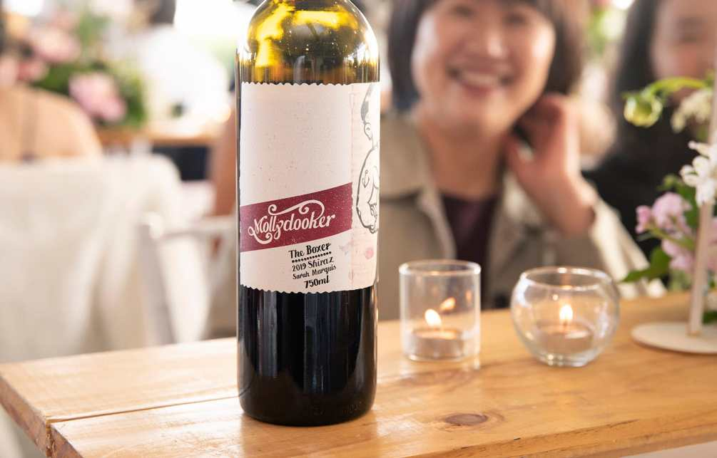 Mollydooker wines bottle