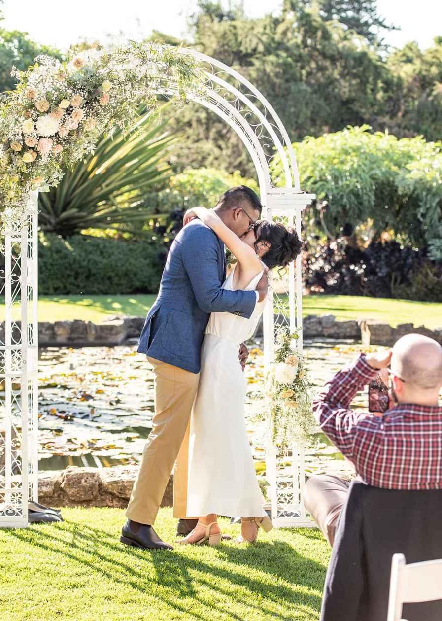 Sunken garden First Kiss