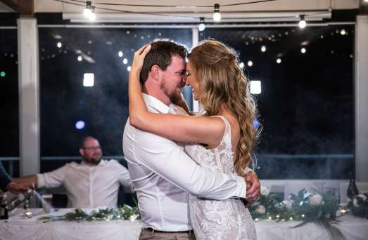First dance at brighton and seacliff yacht club