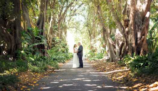 Adelaide Botanic Gardens wedding photo