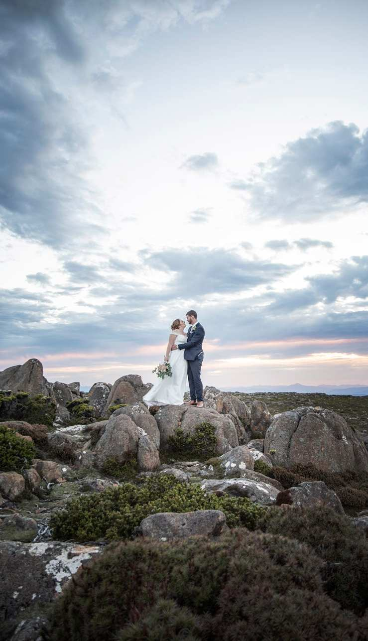 Mt Wellington Wedding photo