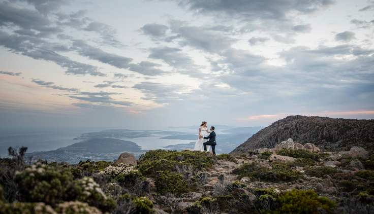 Mt Wellington Wedding photography