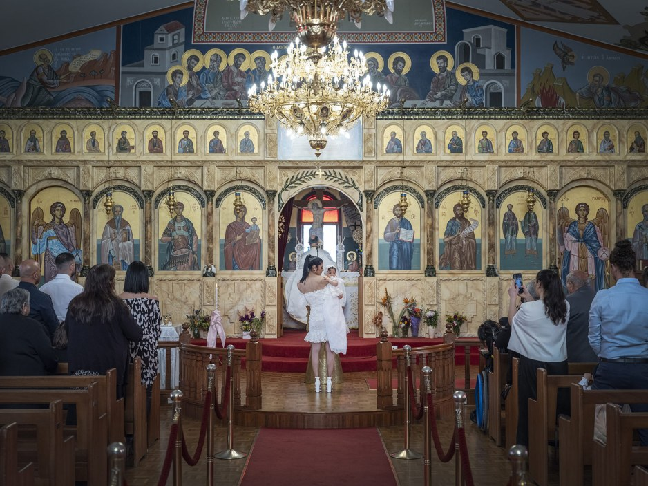 Saint Dimitrios Orthodox Church Baptism photo