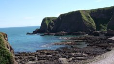 North Sea, Scotland, Dunnottar Castle