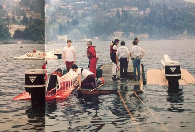 Johnson outboard race f1 autos post for Johnson marine italia