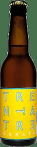 Birra Trentatre Dorata by Birra del Borgo