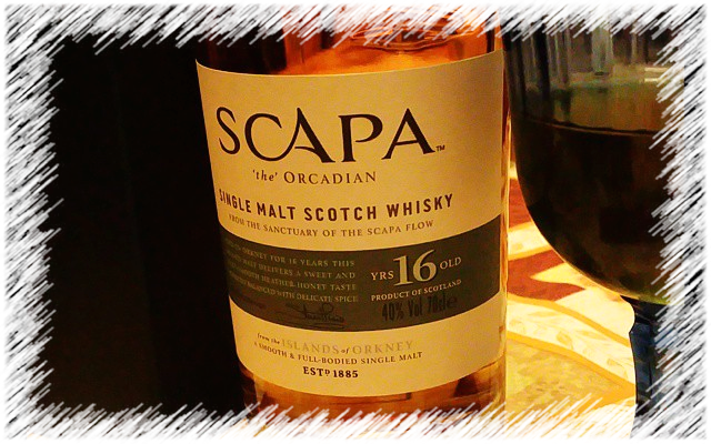 Scapa the Orcadian Single Malt Scotch Whisky 16 Years Old