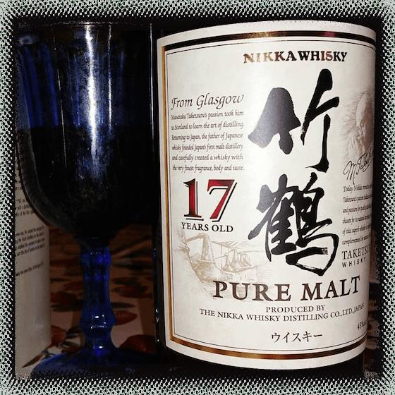 Nikka Whisky 17 Years Old Pure Malt Taketsuru