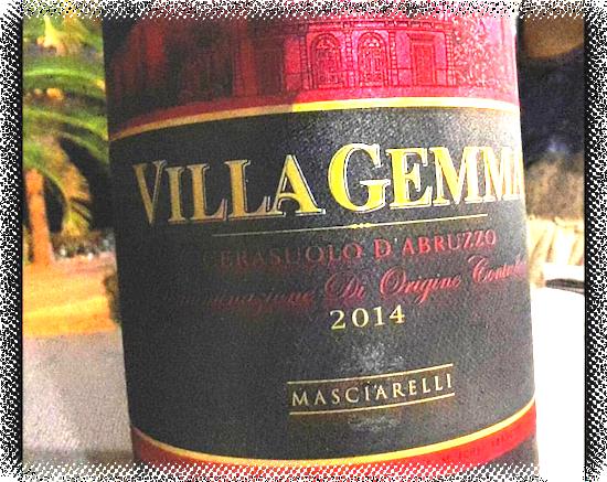 Villa Gemma Cerasuolo d'Abruzzo DOC 2014 Masciarelli