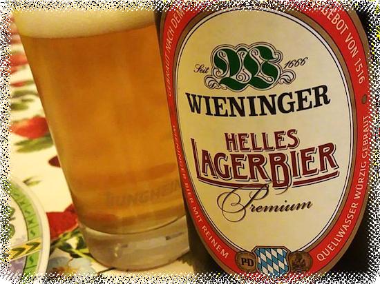 Birra Wieninger Helles Lagerbier Premium