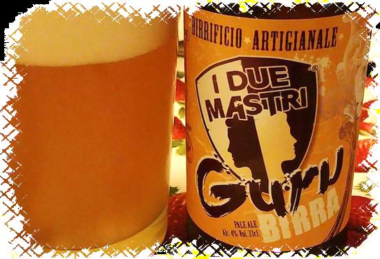 Birrificio Artigianale I Due Mastri Guru Birra Pale Ale