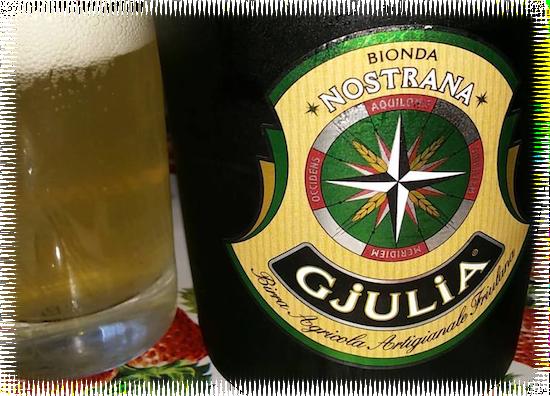 Bionda Nostrana Gjulia Birra Agricola Artigianale Friulana