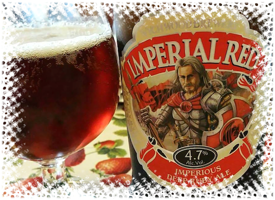 Wychwood Brewery Imperial Red Imperious Deep Ruby Ale