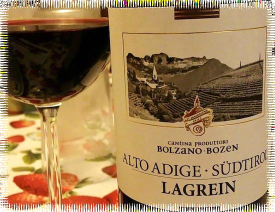 Lagrein DOC Alto Adige Sudtirol Kellerei Bozen