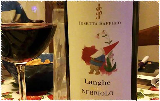 Josetta Saffirio Langhe DOC Nebbiolo 2014