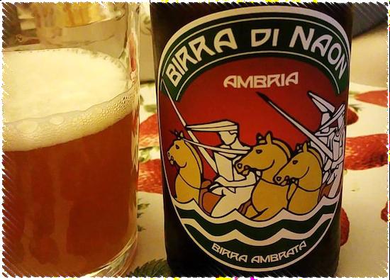 Birra di Naon Ambria Birra Ambrata Pale Ale