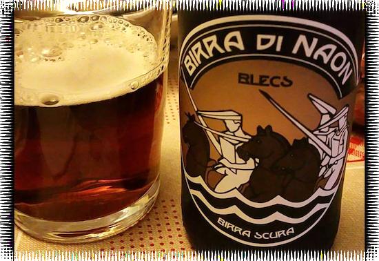Birra di Naon Blecs Birra Scura Brown Ale