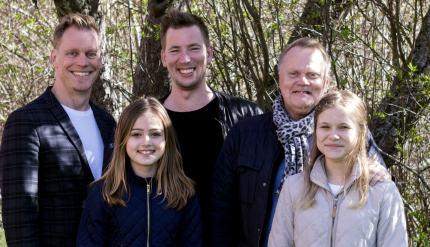 Ola, David, Ingmar, Maja och Ängla