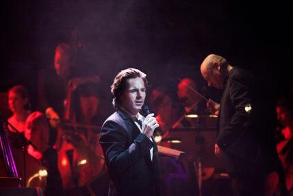 Peter Jöback sjunger sina musikalfavoriter. Foto Mikael Andersson/SR Foto