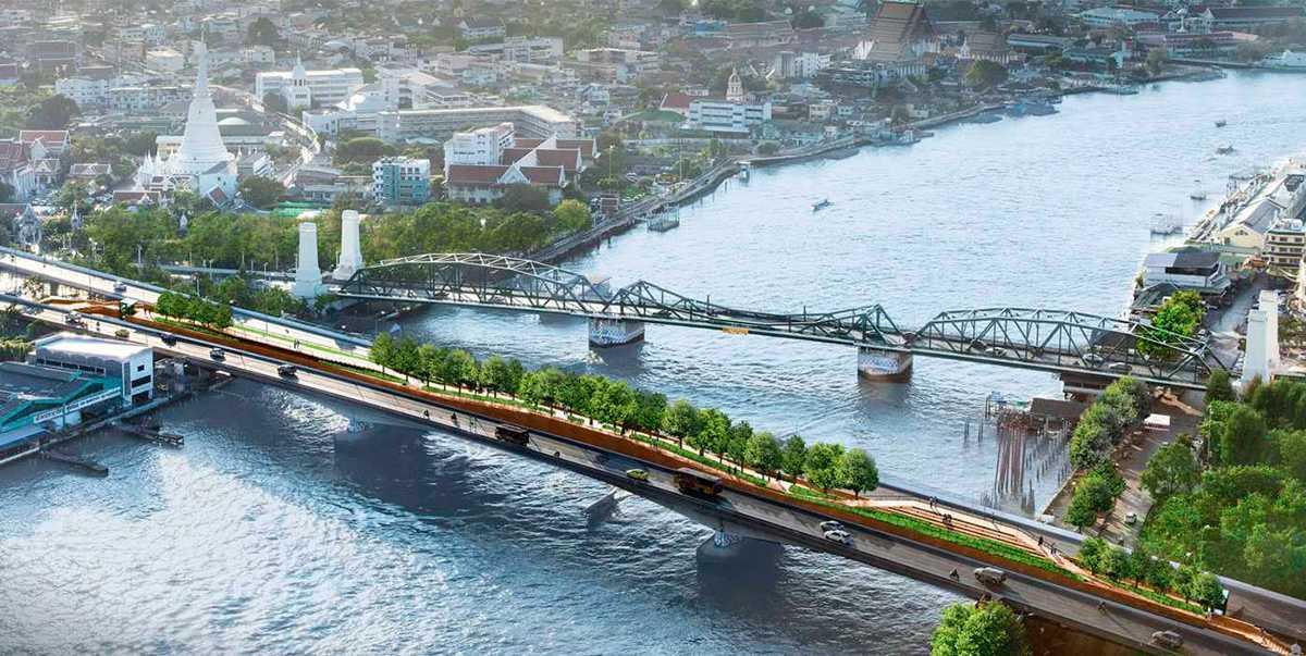 Подвесной парк открывается в Бангкоке