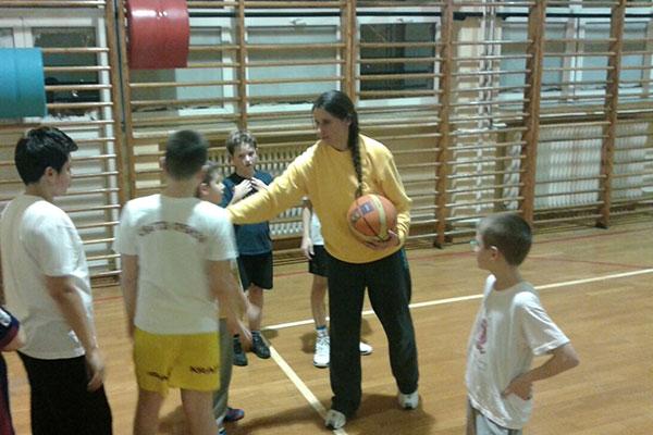 Кошаркашки тренинг ПСД Света Србија