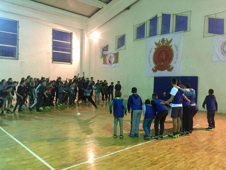 Српска нова година обележена спортским даном