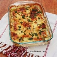 Spinach Baked Fish