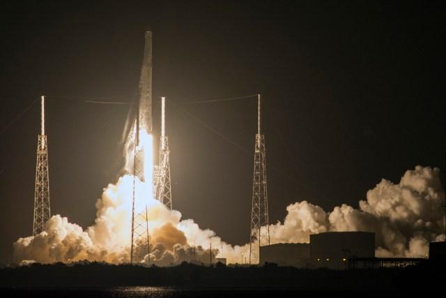 Vzlet rakete SpaceX