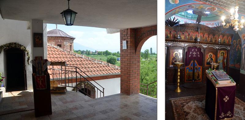 манастир св. Еразмо - crkva za bogosluzba