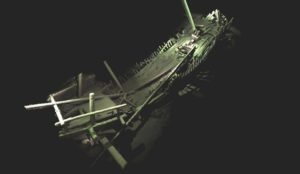 флот древних кораблей, затонувшие корабли Черного моря