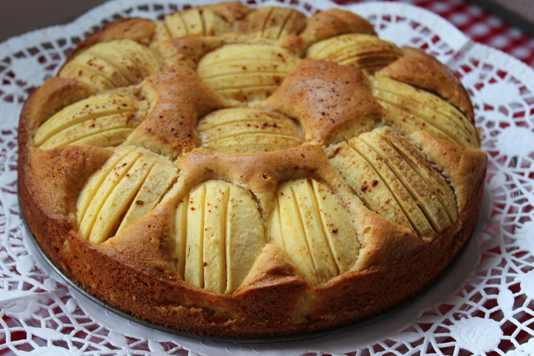 Butter-Apfelkuchen – die perfekte Jause an trüben Tagen