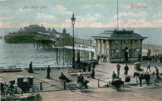 West Pier vroce 1900