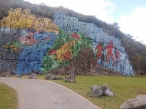 Nástěnná malba Mural de la Prehistoria