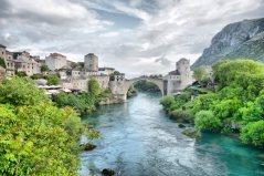 Pohádkový most ve městě Mostar