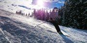 lyžování v květnu