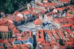 Transylvánské město Brasov