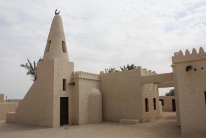 Typická pouštní pevnost