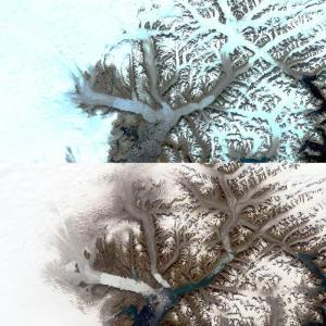 Porovnání ledovců