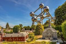Park Mini-Evropa a Atomium