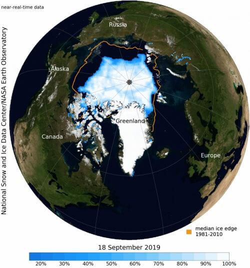 led na severu