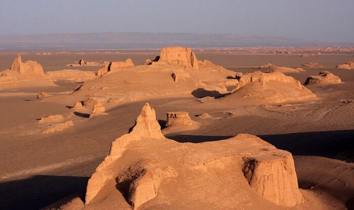 poušť lút