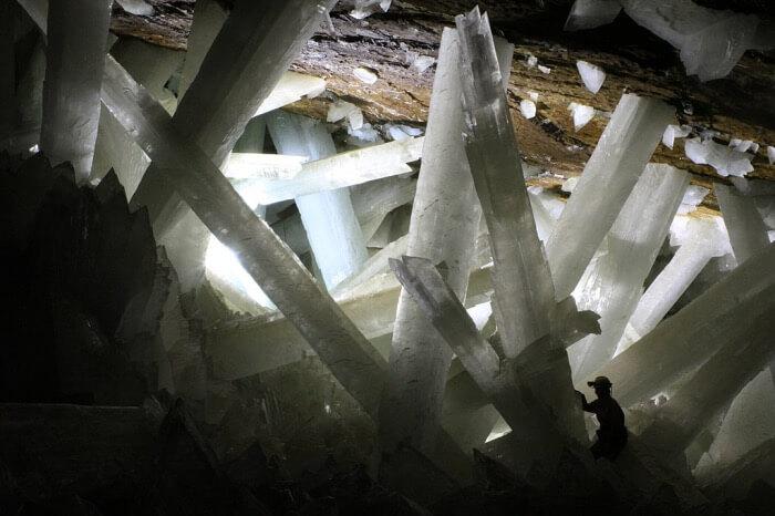 jeskyně krystalů